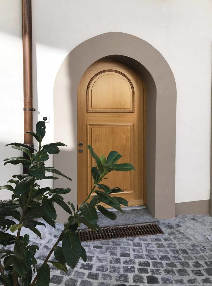 Porte extérieure 3cde Attalext plein cintre